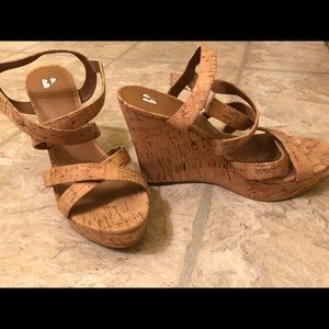 BP Cork Sandals - Size 7m  - worn once